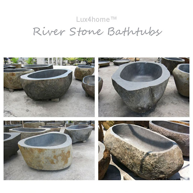 stone bathtub made by Lux4home™